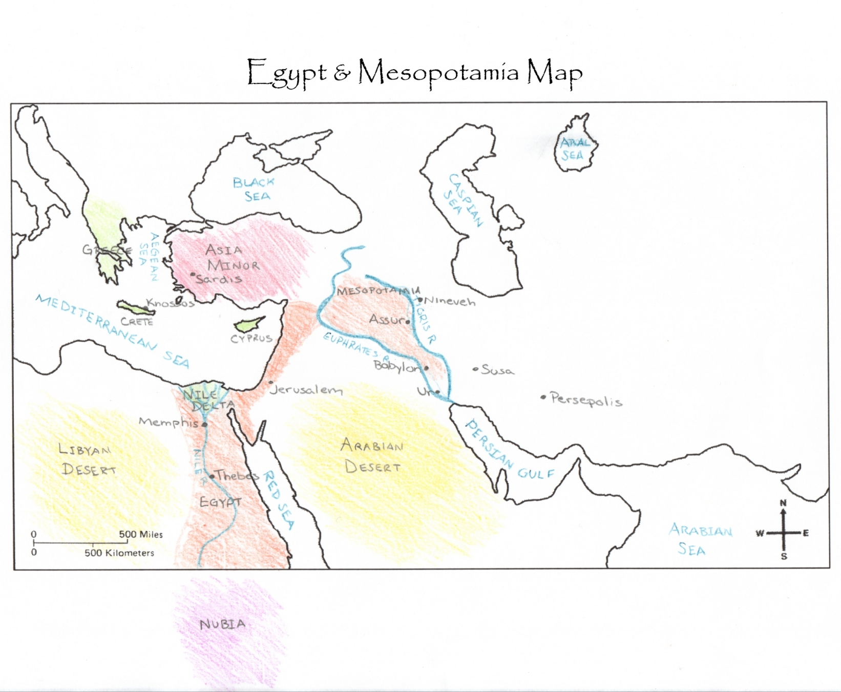 world view of mesopotamia and egypt essay